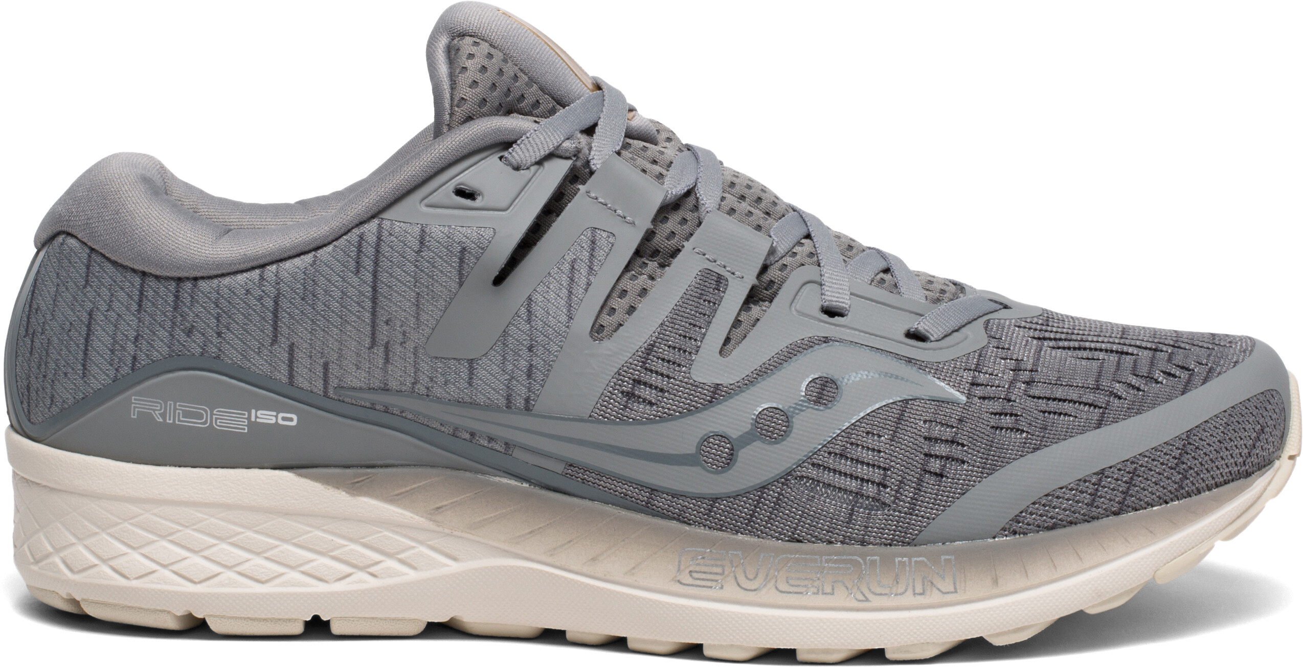 28fe4dd24be saucony Ride ISO - Chaussures running Homme - gris - Boutique de ...